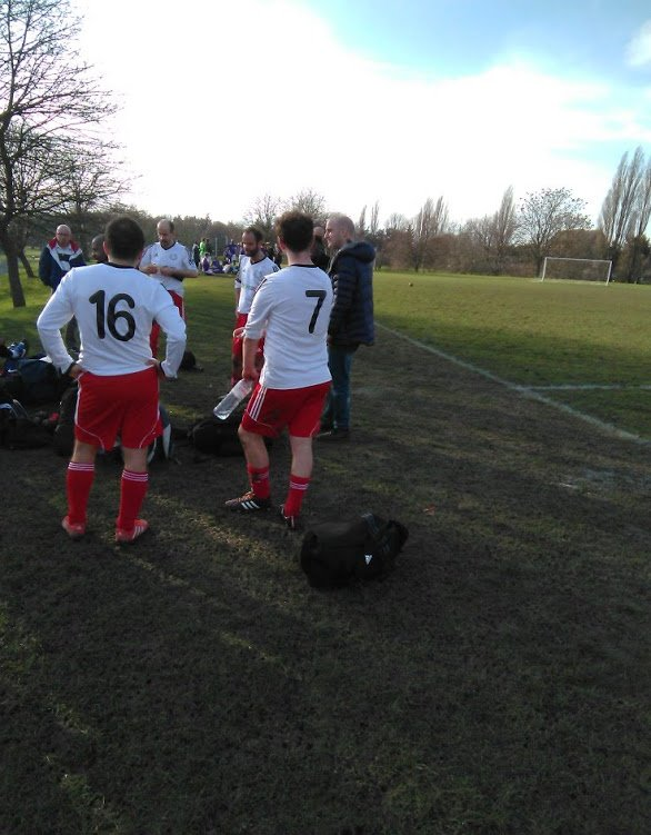 Guy Woolf no 7 and Stonewall contemplate defeat
