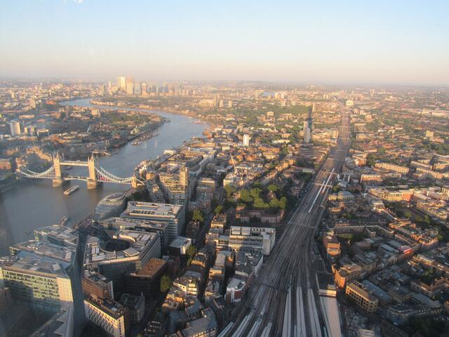 A View of London from The Shard