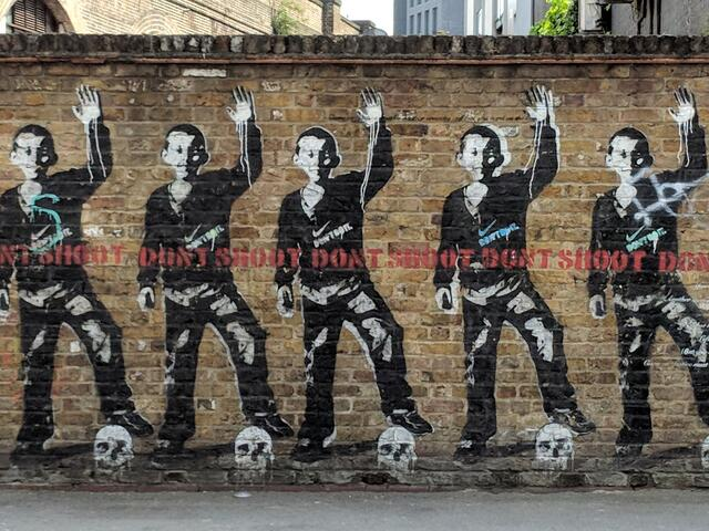 Street Art in Shoreditch on our Walking Tour