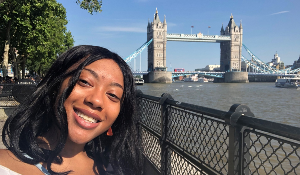 CAPAStudyAbroad_London_Summer2018_From Mariah Thomas - Getting a Photo with the Tower Bridge-1