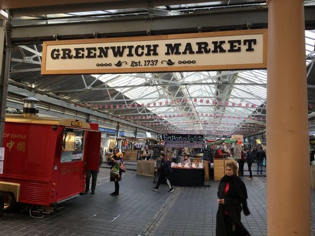 CAPAStudyAbroad_Spring2019_London_Sarah Feinberg_Greenwich Market 1