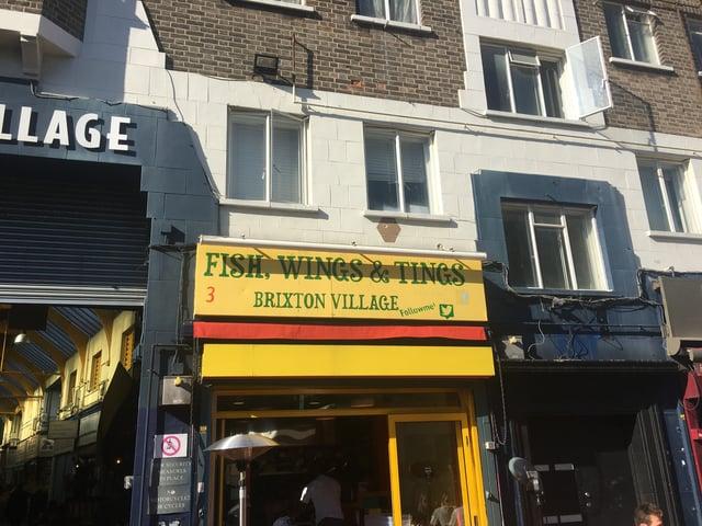 Funky Restaurant in Brixton Village