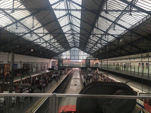CAPAStudyAbroad_Fall2018_London-Christopher Halka_Earls Court Station