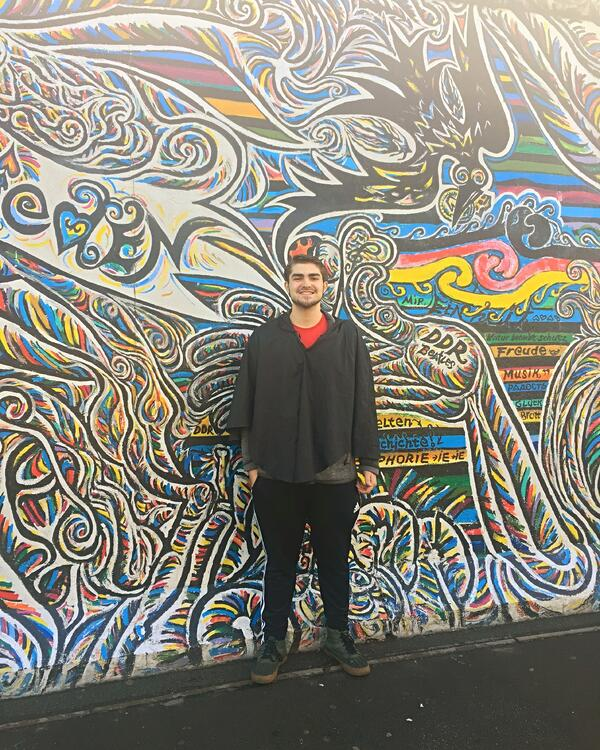 CAPAStudyAbroad_Fall2018_London_Christopher Halka_East Side Gallery in Berlin