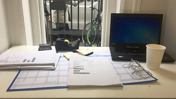 CAPAStudyAbroad_Fall2018_London_Christopher Halka_My desk at my internship