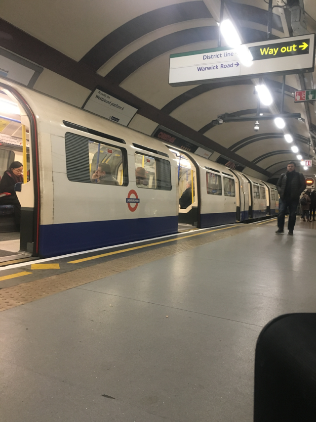 The Tube at Earl's Court Station