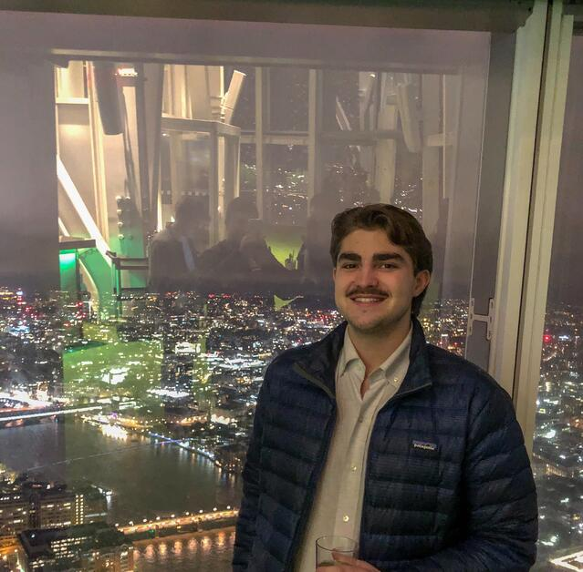 Me at the top of the Shard
