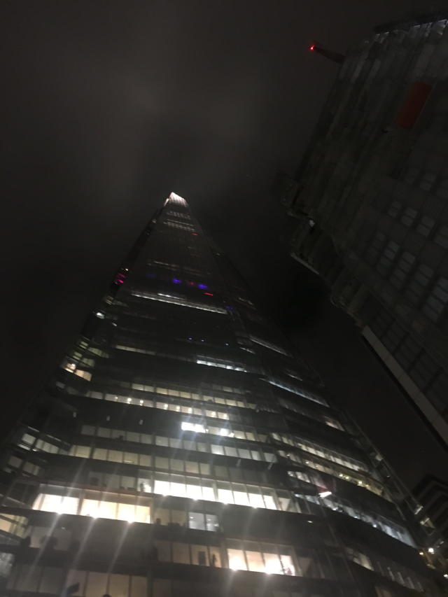 View of the Shard From the Ground