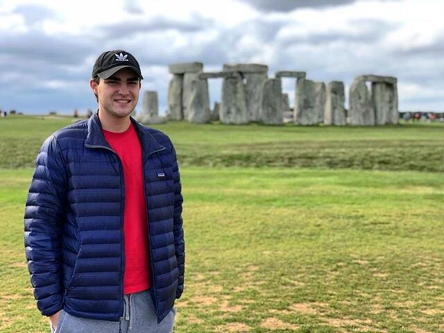 CAPA Blogger Chris Halka at Stonehenge