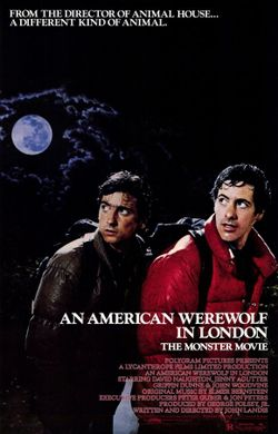 CAPAStudyAbroad_Fall2018_London_Genevieve Rice_ Movie Poster from An American Werewolf in London