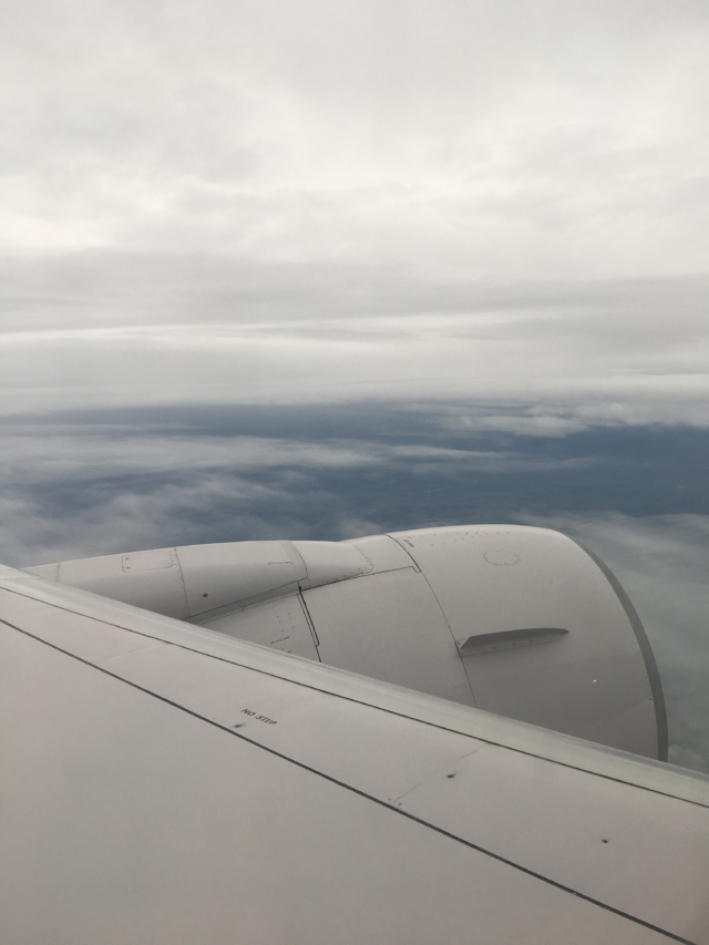 Final views of the cloudy UK sky