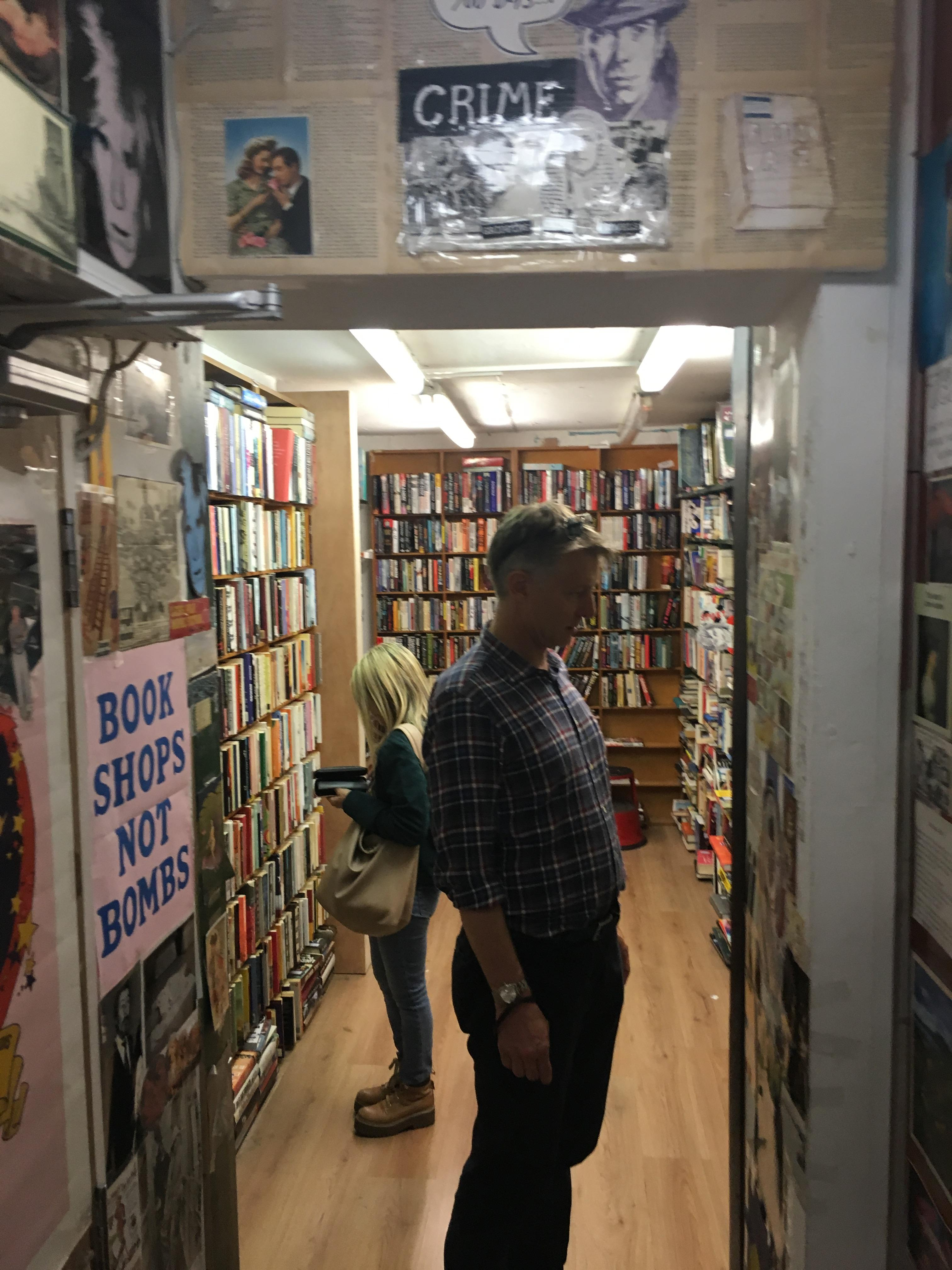 Inside Notting Hill Book Exchange