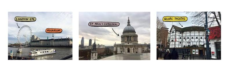 Famous London Hotspots