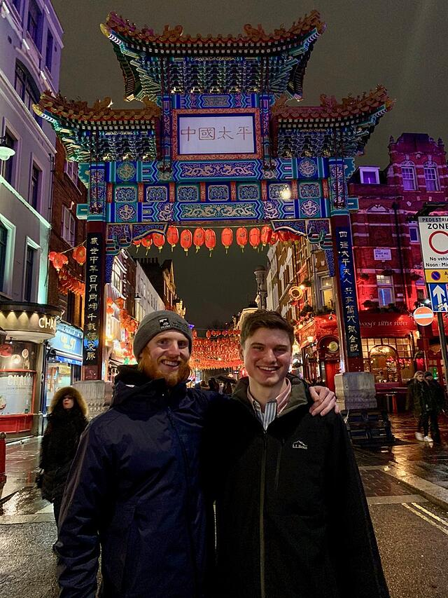 CAPAStudyAbroad_Spring2020_London_JamesNightengale_Friends in Chinatown