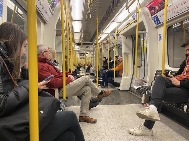 CAPAStudyAbroad_Spring2020_London_JamesNightengale_Inside of Subway Car