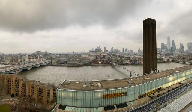 CAPAStudyAbroad_Spring2020_London_JamesNightengale_Tate Modern Top Floor View