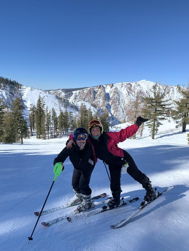 Skiing in NorCal
