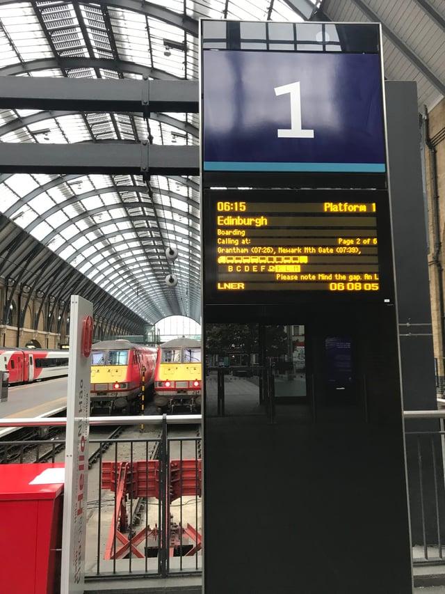 Kings Cross Train