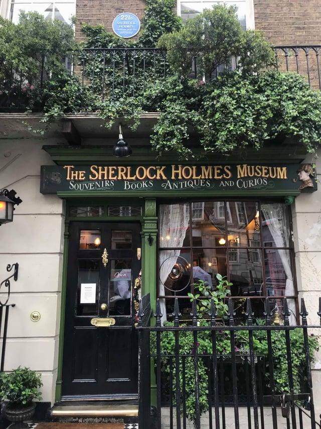 Outside Holmes