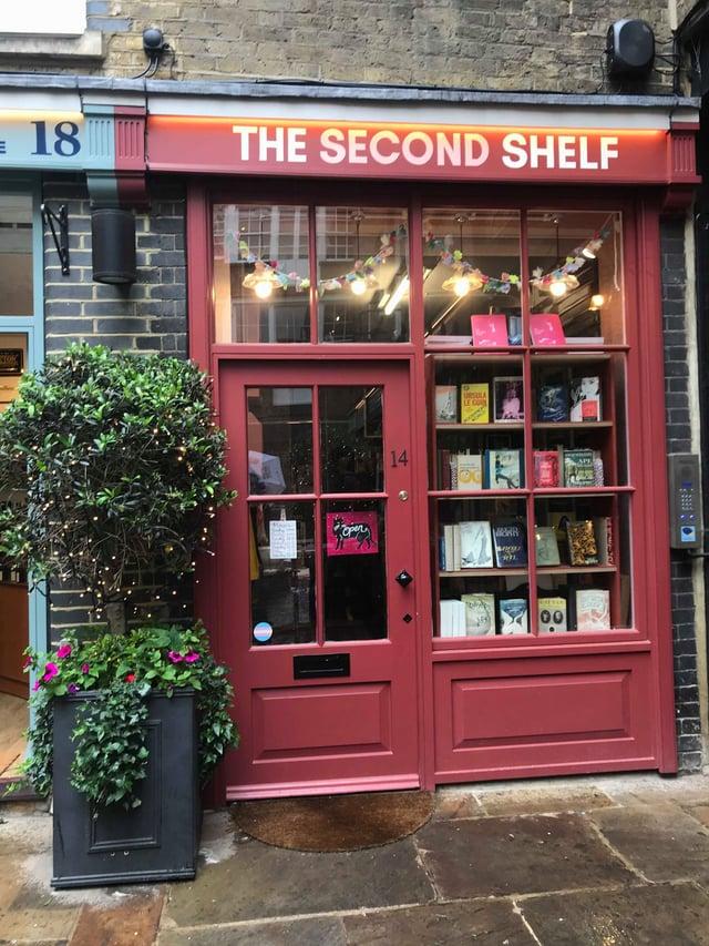 Outside Second Shelf