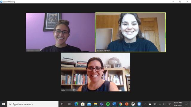 Screenshot of a Zoom Meeting