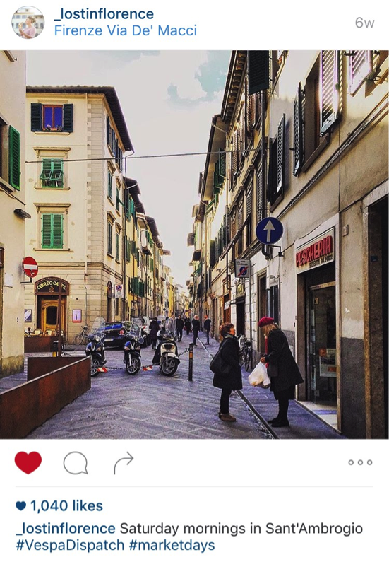 6 Florence Instagram Accounts to Inspire Nostalgia & Wanderlust