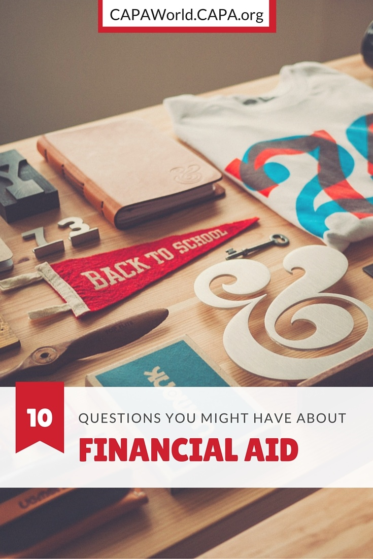 10 Questions You Might Have About Financial Aid