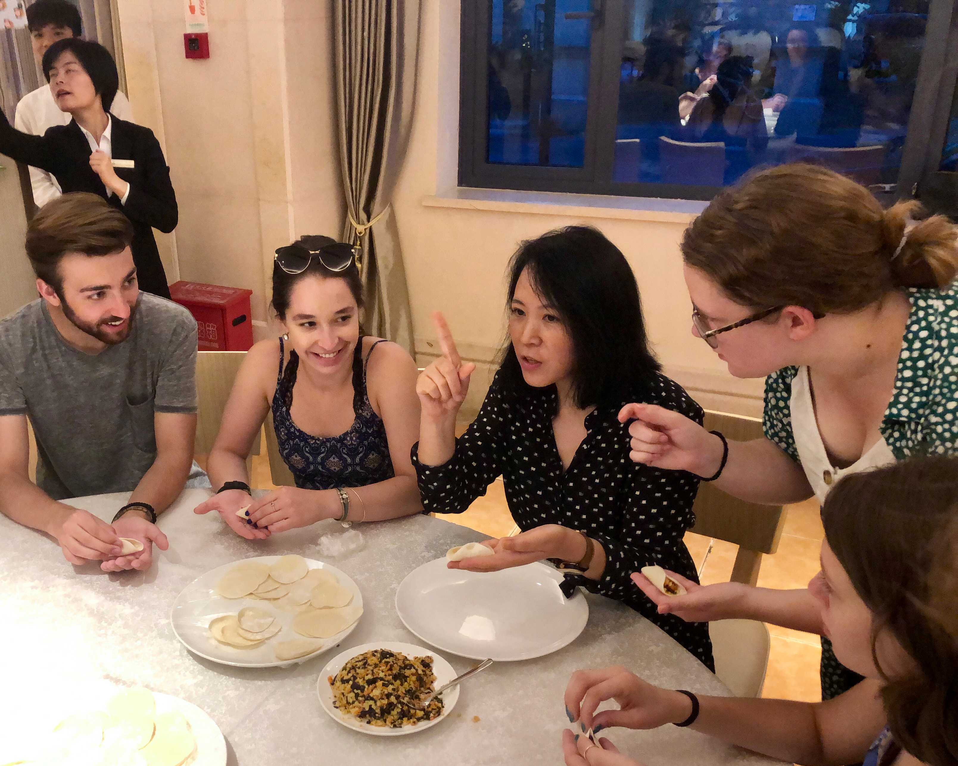 CAPA Study Abroad_Shanghai_Pillar Page_Culture_Learning how to make chinese dumplings